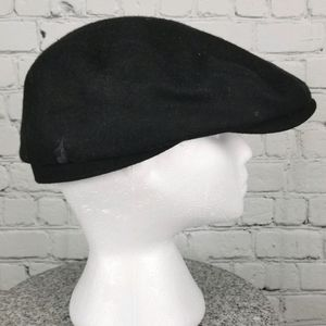 LONDON FOG   wool blend flat cap